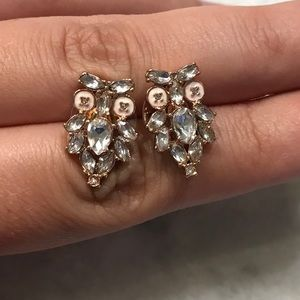 Kate Spade Give a Hoot jeweled owl stud earrings